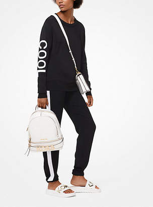 Michael Kors Embroidered Stretch-Viscose Sweatshirt