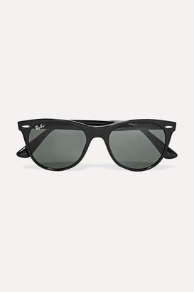 Ray-Ban The Wayfarer Ii Round-frame Acetate Sunglasses
