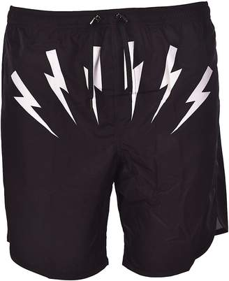 Neil Barrett Thundervolt Shorts