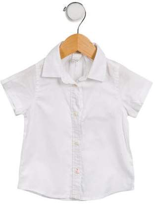 Crewcuts by J. Crew Girls' Short Sleeve Button-Up Top