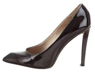 Diane von Furstenberg Patent Leather Pointed-Toe Pumps