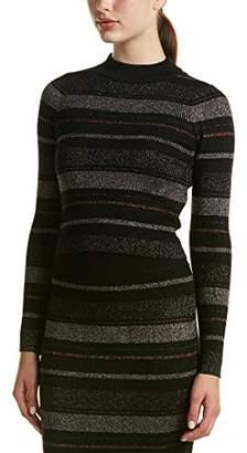 KENDALL + KYLIE Women's Lurex Stripe L/s Sweater