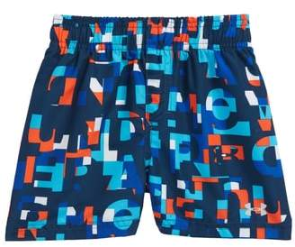 Under Armour Word Toss Volley Swim Trunks