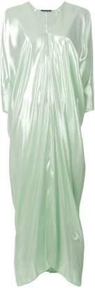 Alberta Ferretti V-neck shift dress