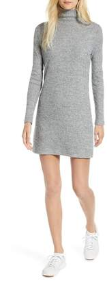 Lou & Grey Soft Rib Turtleneck Dress