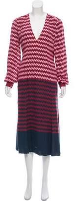 Jonathan Saunders Printed Midi Dress