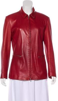 Loro Piana Casual Leather Jacket