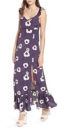 Leith Ruffle Maxi Dress