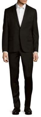 Pierre Balmain Solid Wool Suit