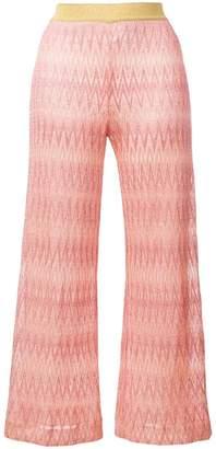 Missoni cropped palazzo pants
