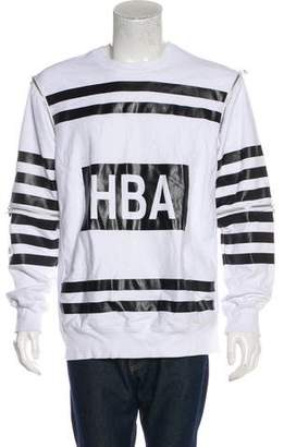 Hood by Air Convertible Striped Sweatshirt