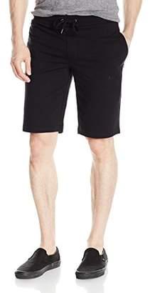 Armani Jeans Men's Regular Fit French Terry Logo Print Sweat Short