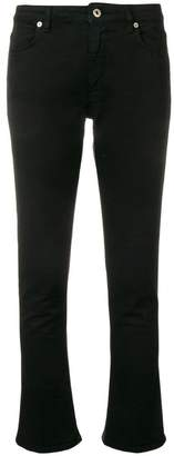 Dondup cropped flared trousers
