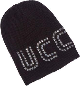 Gucci Game Guccy Rib-Knit Wool Beanie ff637f78bb8
