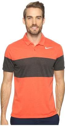 Nike Modern Fit TR Dry 4/1 Print 2 Men's Short Sleeve Pullover