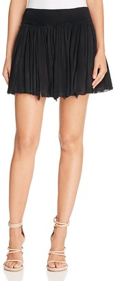 Love Sam Lace-Inset Skirt $175 thestylecure.com