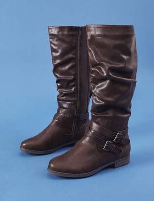 Lane Bryant Buckle Riding Boot