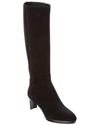 Aquatalia Women's Dale Stretch Suede/Elastic Knee High Boot