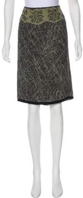 Bottega Veneta Embellished Knee-Length Skirt