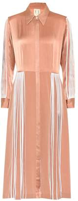 BODICE Silk midi dress