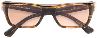 Christian Roth rectangular sunglasses