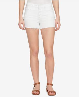 William Rast Button-Up Denim Shorts