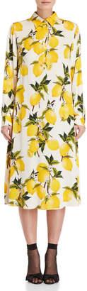 Dolce & Gabbana Lemon Trapeze Dress