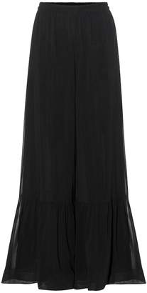 RED Valentino Wide-leg silk trousers