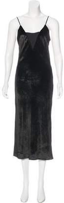Ramy Brook Velvet Maxi Dress