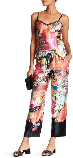 Trina Turk Walker Printed Silk Pants