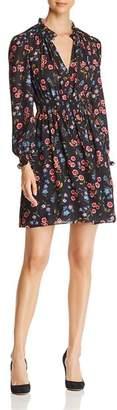 Kate Spade Meadow Print Smocked Dress