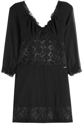Just Cavalli Dress with Sheer Inserts