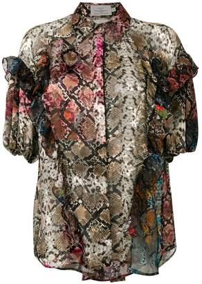 Preen by Thornton Bregazzi ruffled blouse