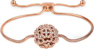 Folli Follie Santorini Flower rose gold-plated bracelet