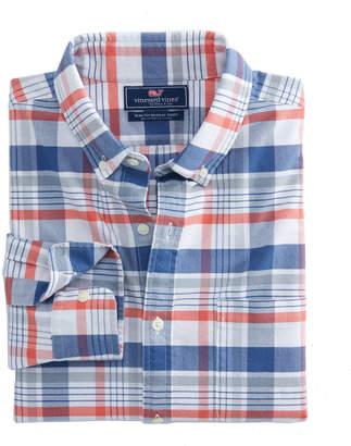 Vineyard Vines Slim Abacos Plaid Murray Shirt