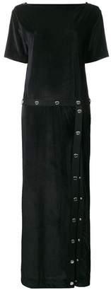 Love Moschino button detail dress