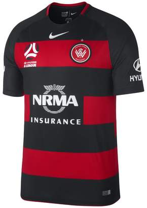 Nike 2017/18 Western Sydney FC Stadium Home Men's Football Shirt