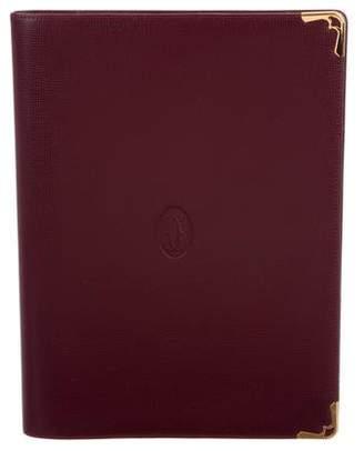 Cartier Bordeaux Notebook Cover