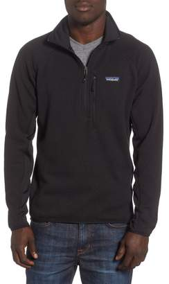 Patagonia Better Sweater(R) Performance Slim Quarter-Zip Pullover
