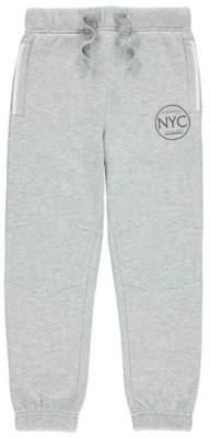 George Grey NYC Logo Cuffed Joggers