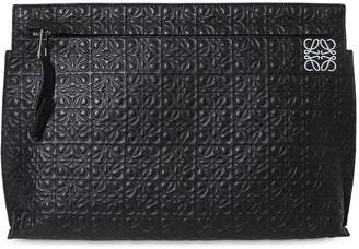 Loewe EMBOSSED LEATHER T POUCH