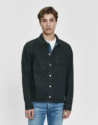 Nudie Jeans Ronny Army Coated Jacket