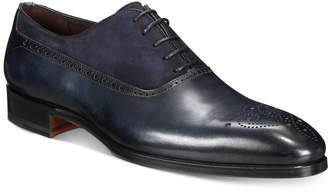 Massimo Emporio Men's Mixed Water Resistant Brogue Oxfords, Created for Macy's Men's Shoes