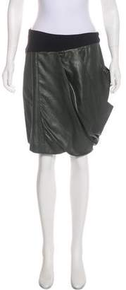 VPL Draped Bicolor Skirt