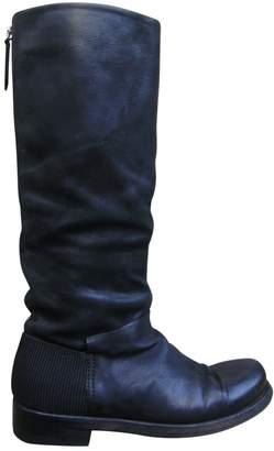 Vic Matié Leather biker boots