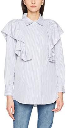Just Female Women's Verti Shirt,(Manufacturer Size: S)