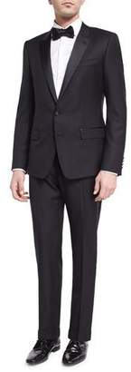 Dolce & Gabbana Martini Two-Piece Tuxedo Suit, Black $2,795 thestylecure.com