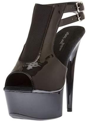 The Highest Heel Women's Amber-261-Bpat Platform Sandal