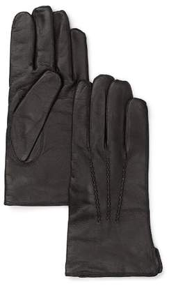 Bloomingdale's The Men's Store at Cashmere Lined Leather Gloves - 100% Exclusive