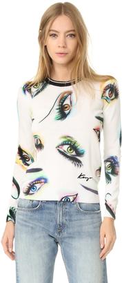 KENZO Visage Sweater $345 thestylecure.com